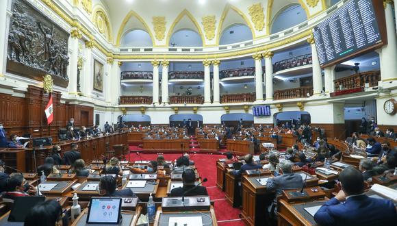Por 74 votos a favor, 41 en contra y 3 abstenciones, la representación nacional dio luz verde al documento, presentado por la presidenta de la Comisión de Constitución. (Foto: El Congreso)