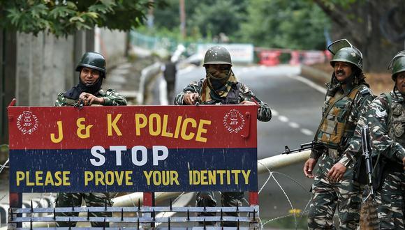 Al menos 4.000 arrestos en Cachemira india desde revocación de autonomía. (AFP).