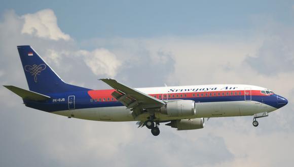 Un Boeing 737-500 de la compañía Sriwijaya Air. (Foto: Adek BERRY / AFP / Archivo).