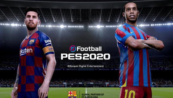 eFootball PES 2020 se lanzará a nivel mundial para PS4, PC y Xbox One el próximo 10 de setiembre. (Captura de pantalla)