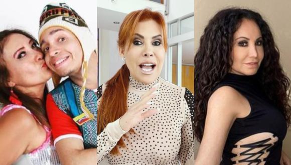 """Magaly Medina ha protagonizado polémicas entrevistas con sus invitados en """"Magaly TV: La Firme"""". (Foto: @flordehuaraz/@magalymedinav/@janetbarbozaa)."""