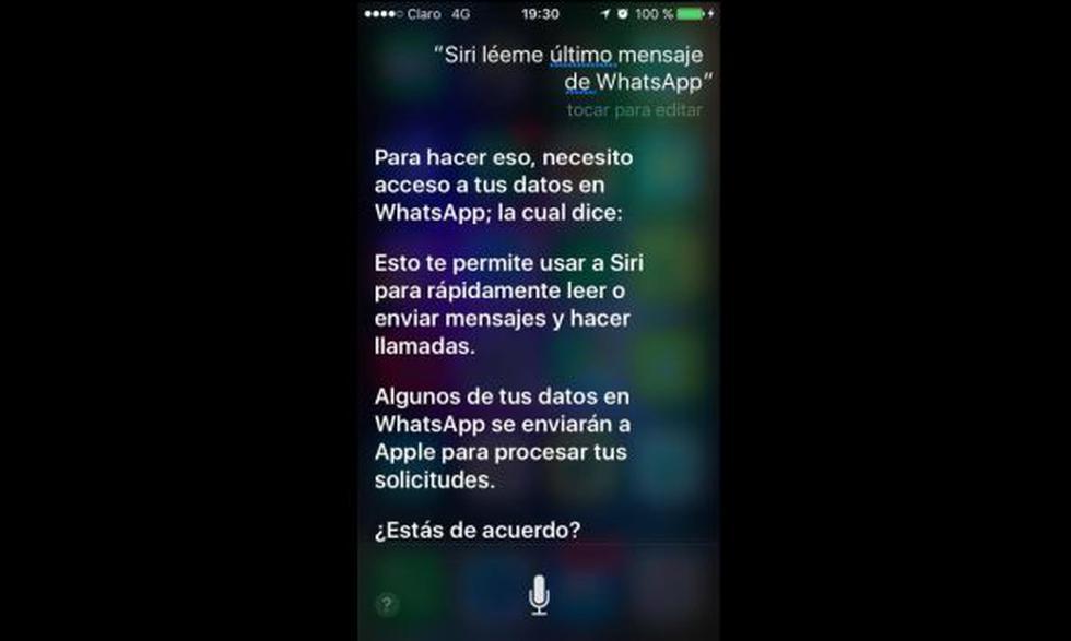 Así puedes usar a Siri para leer tus mensajes de WhatsApp - 2