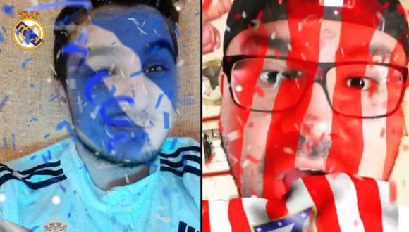 Champions League: los filtros de Snapchat por la final