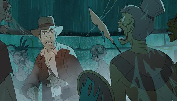 """""""Indiana Jones"""": fan crea tráiler animado de la saga"""
