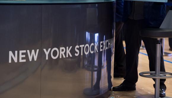 La New York Stock Exchange (NYSE) en Wall Street. (Foto: AFP)