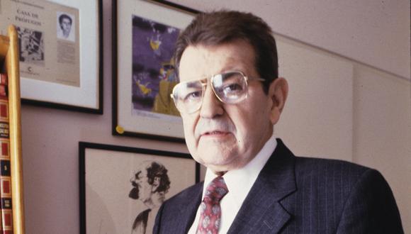 Emilio Lafferranderie, más conocido como 'El Veco', dejó huella en el periodismo deportivo de nuestro país. (Foto: El Comercio)