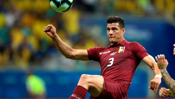Yordan Osorio es baja en la selección de Venezuela para la fecha triple. (Foto: Agencias).