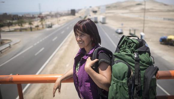 En 20 años como difusora del patrimonio cultural del Perú, Sonaly Tuesta ha sabido ganarse el cariño impagable dela gente. (Foto de archivo: GEC)