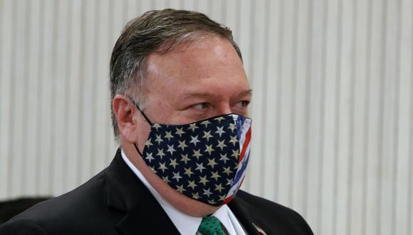 El jefe de la diplomacia estadounidense, Mike Pompeo. (Foto: EFE)