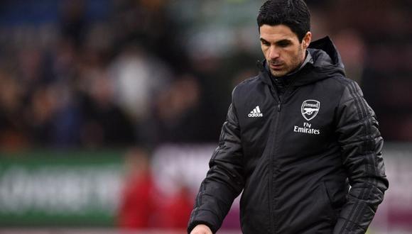 Mikel Arteta arrancó una mala temporada al mando del Arsenal. (Foto: EFE).