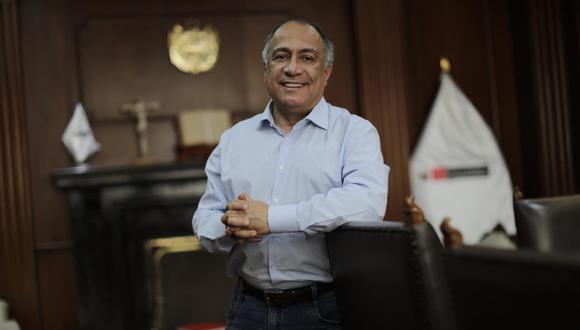 Javier Palacios, ministro de Trabajo. (Foto: Anthony Niño de Guzmán / GEC)