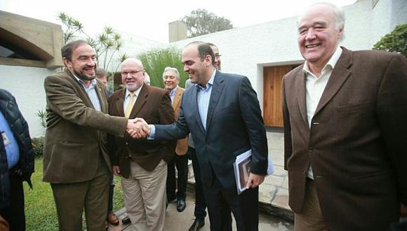 Fernando Zavala se reunió con bancada de Acción Popular