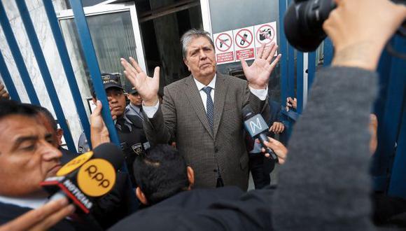 El último jueves, García llegó al Perú de España para declarar ante el fiscal Pérez por el caso. La audiencia se reprogramó. (Foto: Mario Zapata)