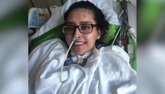 Mayra Ramírez fue la primera persona hasta donde se conoce en ser sometida a un trasplante doble de pulmón en EE.UU. tras enfermarse de coronavirus. (NORTHWESTERN MEDICINE)