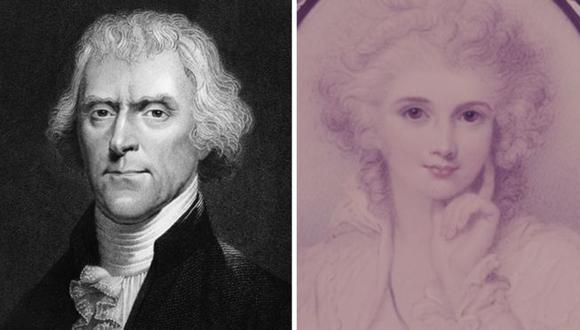 Thomas Jefferson se enamoró de María Cosway, pero ella no era libre. (Foto: Getty Images, vía BBC Mundo).
