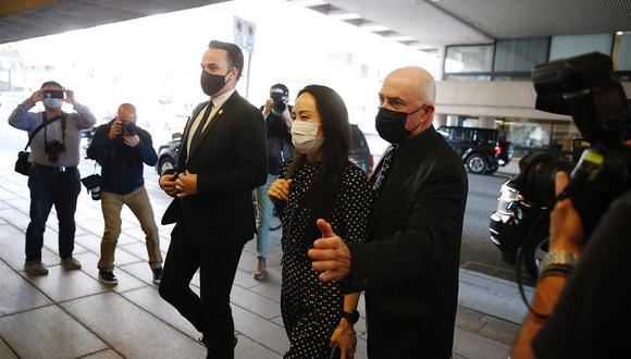 """Meng admitió que """"no dijo la verdad sobre las operaciones de Huawei en Irán"""" y continuó haciendo negocios con la República Islámica """"en violación de la ley estadounidense"""" (Foto: Bob Frid/EFE)"""