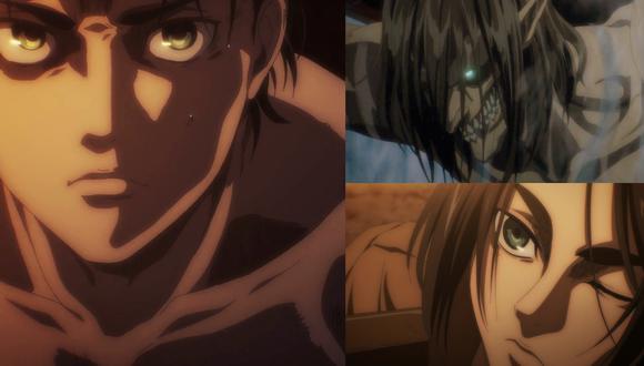 """En el episodio 9 de la temporada 4 de """"Attack on Titan"""" (""""Shingeki no Kyojin""""), conocemos qué pasó con Eren y los demás soldados de Eldia antes del ataque a Marley. Fotos: Crunchyroll."""