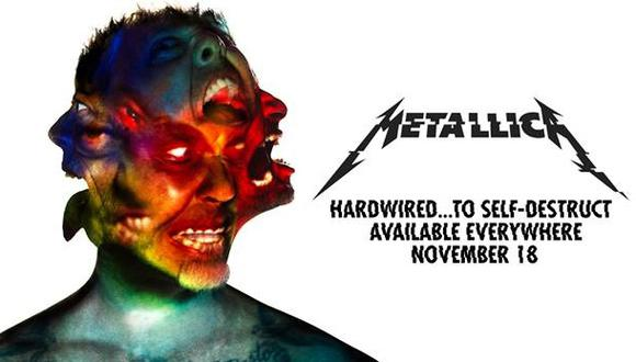 "Metallica lanza nuevo disco: ""Hardwired...To Self-Destruct"""