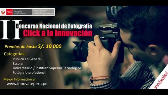 Innóvate Perú lanza el II Concurso Nacional de Fotografía 2015