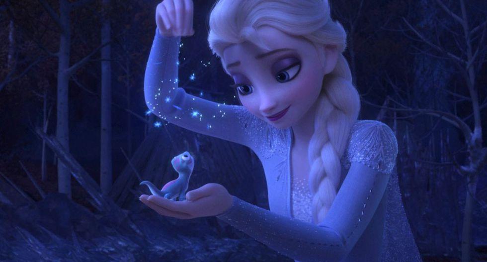 """""""Frozen 2"""" superó las expectativas de recaudación al lograr US$350,2 millones en su primer fin de semana.  (Disney via AP)"""