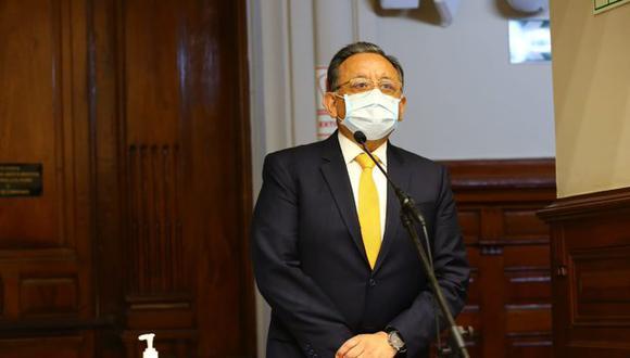 Edgar Alarcón fue suspendido del cargo de congresista mientras duren las investigaciones en su contra. (Foto: Congreso de la República)