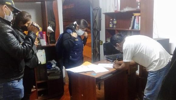 En total las autoridades allanaron 17 inmuebles en diferentes distritos. (Foto: RPP)