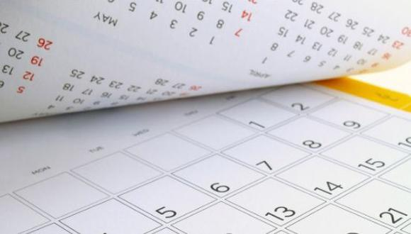 Feriados 2018: conoce los días que serán no laborables. (Foto: Shutterstock)