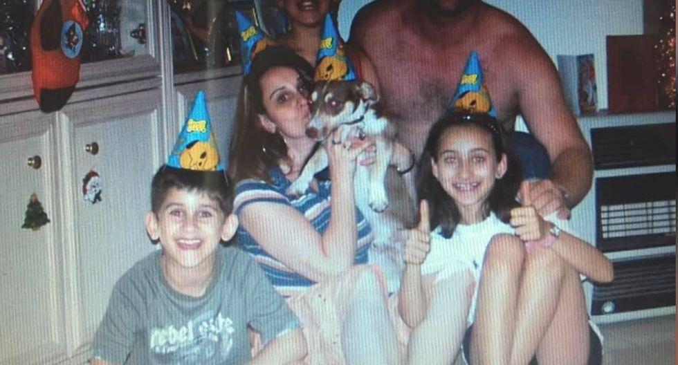 La familia de Bailey decidió organizarle una fiesta sorpresa por su cumpleaños, la reacción del perro se volvió viral (Foto: Facebook Katie D'Souza)
