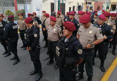 Surco: 66 policías del Escuadrón de Emergencias se suman al patrullaje integrado