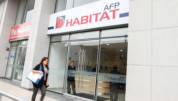 La AFP Habitat aún no rebaja comisiones para independientes