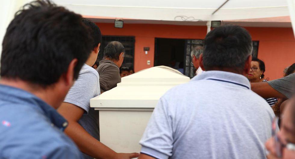 Los restos de Solsiret Rodríguez Aybar, hallados el último martes en una vivienda del Cercado de Lima, son velados en la casa de los padres de la activista #NiUnaMenos. (Foto: HugoCurotto/GEC)