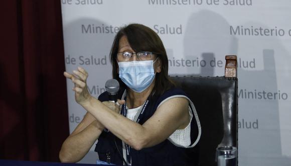 Pilar Mazetti dio detalles de cómo estará trabajando el Comando COVID-19 que ella preside para contener el avance del coronavirus. (Foto: Andrés Paredes)