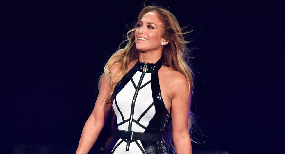 MIAMI, FLORIDA - NOVEMBER 02: Jennifer Lopez performs onstage at the 2019 iHeartRadio Fiesta Latina at AmericanAirlines Arena on November 2, 2019 in Miami, Florida.   Jason Koerner/Getty Images for iHeartRadio/AFP