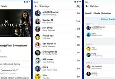 Ya se pueden crear torneos de videojuegos a través de Facebook Gaming