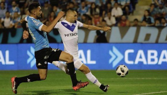 Vélez Sarsfield choca con Belgrano este viernes (7:15 p.m. EN VIVO ONLINE por TNT Sports) por la fecha 16 de la Superliga Argentina. (Foto: Vélez)