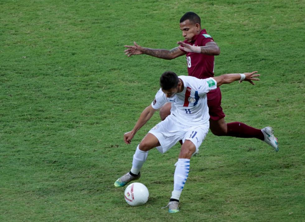 Venezuela - Paraguay: Eliminatorias Qatar 2022. (Foto: Albirroja)
