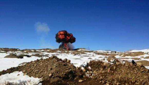 Puno: autoridades intervinieron campamentos mineros informales
