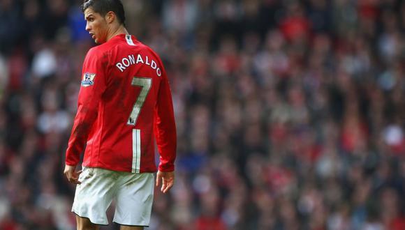 Cristiano Ronaldo vistió los colores del Manchester United desde el 2003 hasta el 2009. (Foto: AFP)