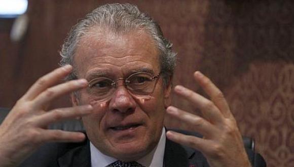 Canciller Gonzalo Gutiérrez.