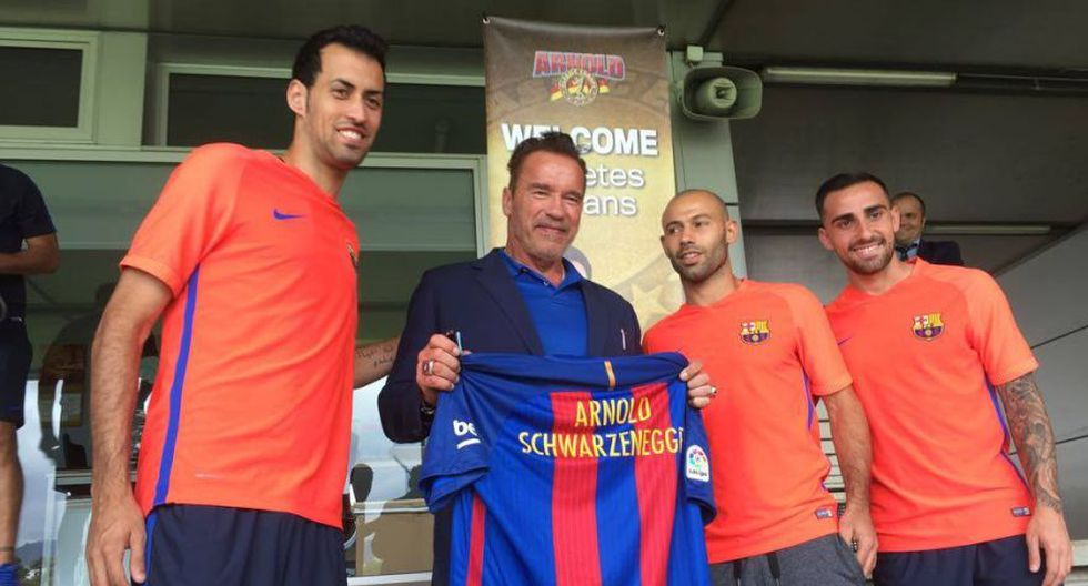 Facebook: Arnold Schwarzenegger conoció a Neymar [FOTOS] - 6