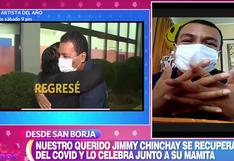 """Jimmy Chinchay reaparece en el programa """"En boca de todos"""" tras vencer el COVID-19 [VIDEO]"""