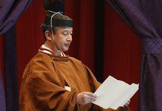 Japón: nuevo emperador Naruhito proclama formalmente su entronización