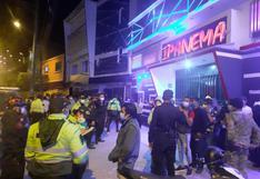 Huánuco: 150 jóvenes fueron sorprendidos en discoteca que funcionaba en plena pandemia