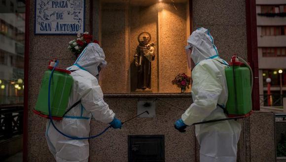 Coronavirus en España | Últimas noticias | Último minuto: reporte de infectados y muertos hoy, viernes 16 de octubre del 2020 | Covid-19 | (Foto: EFE/ Brais Lorenzo).