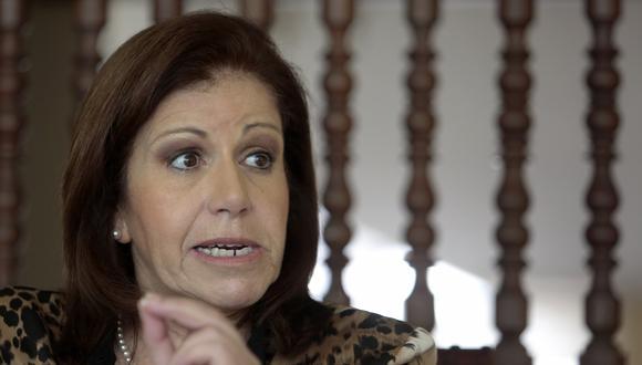 Lourdes Flores se mostró a favor de que el Ministerio Público abra una investigación por su caso. (Foto: GEC)