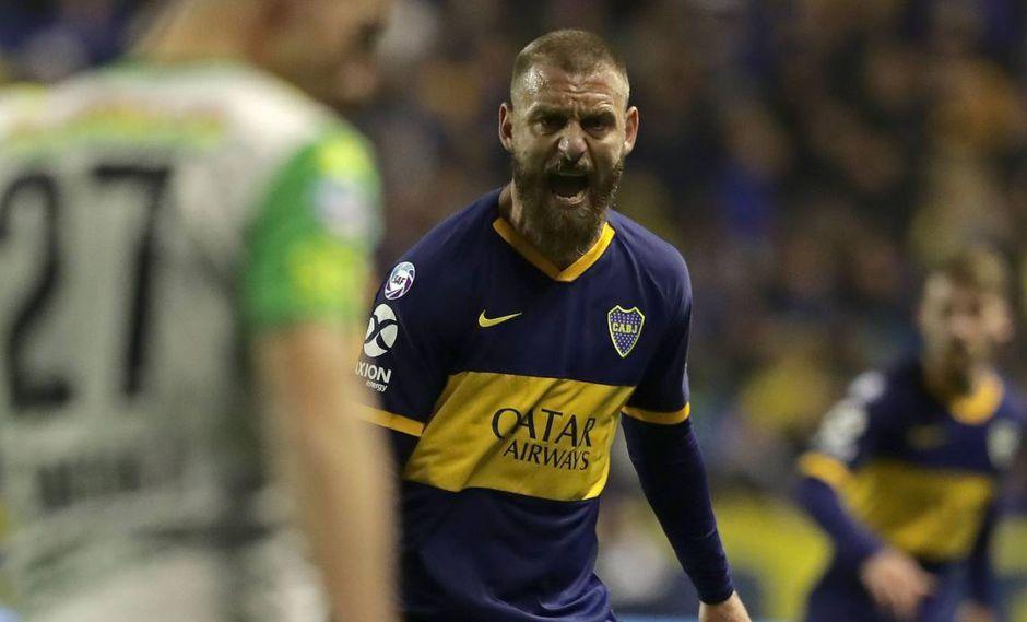 Daniele De Rossi arrancaría contra River Plate el domingo. (Foto: AFP)
