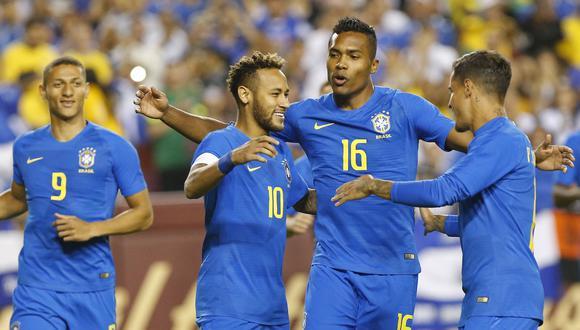 Brasil vs. El Salvador EN VIVO ONLINE vía DirecTV Sports: con Neymar en amistoso por la fecha FIFA. (Foto: Reuters)