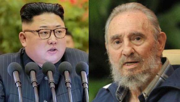 "Kim Jong-un lamenta ""la triste noticia"" de la muerte de Castro"