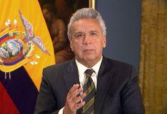 Asamblea de Ecuador rechaza reformas económicas presentadas por Lenín Moreno