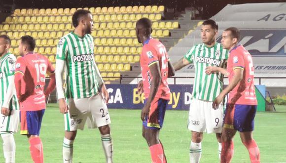 Nacional empató de visita ante Pasto   Foto: Atlético Nacional